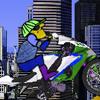 Jocuri cu motociclistul din desene