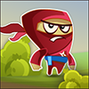 Jocuri ninja rosu patrat