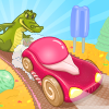 Jocuri de curse cu masini de inghetata